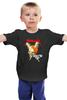 """Детская футболка классическая унисекс """"Metallica"""" - heavy metal, metallica, рок группа, металлика, damage inc"""