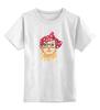 """Детская футболка классическая унисекс """"Стильная кошка"""" - кошка, модно, стильная, котик, casual"""
