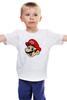 "Детская футболка ""Марио (Mario)"" - nintendo, mario, mario bros, братья марио"