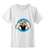 """Детская футболка классическая унисекс """"Папай моряк"""" - арт, popeye, сила, spinach, sailor, моряк попай, шпинат"""
