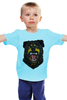 """Детская футболка классическая унисекс """"Rottweiler"""" - dog, собака, клыки, rottweiler, ротвейлер"""