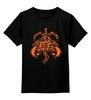 """Детская футболка классическая унисекс """"Пламя и кровь"""" - игра престолов, game of thrones, fire and blood, пламя и кровь"""