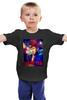"""Детская футболка классическая унисекс """"Сектор Газа"""" - панк, хой, сектор газа, юра хой, колхозный панк"""