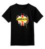 """Детская футболка классическая унисекс """"Шерлок"""" - bbc, флаг, sherlock, шерлок, uk"""