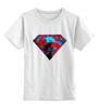 """Детская футболка классическая унисекс """"superman"""" - superman, супергерои"""