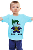 "Детская футболка ""Джокер (8-бит)"" - joker, batman, джокер, бэтмен, бетмен"