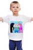 """Детская футболка классическая унисекс """"ФинДжейк"""" - adventure time, время приключений, финн"""