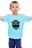 """Детская футболка классическая унисекс """"Обезьяна (Monkey)"""" - monkey, горилла, 2016, год обезьяны"""
