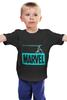 """Детская футболка """"iron bullet /// мстители"""" - мстители, железный человек, iron man, marvel comics, стальная пуля"""