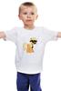 """Детская футболка классическая унисекс """"My Little Pony - AppleJack (ЭпплДжек)"""" - mlp, пони, усы, эппл джек, инкогнито"""