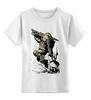 """Детская футболка классическая унисекс """"bioshock"""" - game, shooter, шутер, 2k, big daddy, большой папочка, irrational games"""