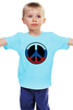 "Детская футболка классическая унисекс ""Russian Pacifist"" - мир, россия, russian, pacifist, пацифист"