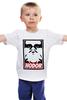 """Детская футболка классическая унисекс """"Hodor (Obey)"""" - starks, игра престолов, старки, game of thrones, ходор"""