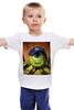 """Детская футболка классическая унисекс """"Университет Монстров! """" - мультфильм, cartoon, университет монстров, майк, mike, monsters university, pixar, вазовский"""