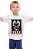"""Детская футболка классическая унисекс """"Bane (Obey)"""" - бэтмен, rise, бэйн, bane"""