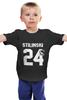"""Детская футболка классическая унисекс """"Stilinski 24"""" - волчонок, teen wolf, stilinski, стилински"""