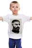 """Детская футболка """"Довлатов"""" - писатели, писатель, журналист, sergei dovlatov, сергей довлатов"""