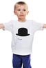 """Детская футболка классическая унисекс """"Заводной апельсин (A Clockwork Orange)"""" - заводной апельсин, hat, шляпа, стэнли кубрик"""