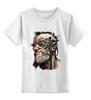 """Детская футболка классическая унисекс """"Кибербанк"""" - арт, авторские майки, punk, cyberpunk, science fiction"""