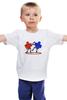 "Детская футболка ""Аэрохоккей (Air hockey)"" - fight, драка, аэрохоккей, air hockey"