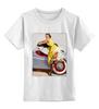 """Детская футболка классическая унисекс """"Pin-up girl"""" - девушка, pin-up girl, пинап"""