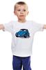"""Детская футболка классическая унисекс """"Жучок"""" - жук, жучок, vw, beetle"""