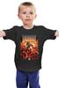 """Детская футболка """"Doom game"""" - арт, games, игры, игра, game, стиль, doom, парню, old school, шутер"""