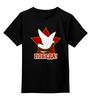 """Детская футболка классическая унисекс """"Победа"""" - звезда, 9 мая, день победы, георгиевская ленточка, голубь"""