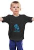 """Детская футболка классическая унисекс """"NEWBEE DOTA"""" - игры, dota, video games, d2, newbee"""