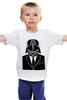 "Детская футболка классическая унисекс ""Darth vader"" - star wars, darth vader, дарт вейдер"