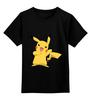 "Детская футболка классическая унисекс ""Пикачу"" - nintendo, pokemon, пикачу, покемоны, video games, pikachu"