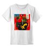 """Детская футболка классическая унисекс """"Basquiat"""" - граффити, робот, basquiat, баския, жан-мишель баския"""