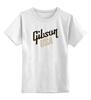 "Детская футболка классическая унисекс ""Gibson USA"" - guitar, гитарист, gibson, guitars, гибсон"
