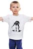 """Детская футболка классическая унисекс """"Biochock - Big Daddy"""" - биошок, bioshock, большой папочка"""