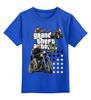 """Детская футболка классическая унисекс """"GTA Live_"""" - компьютерные игры, мотоцикл, гта, игроманам"""