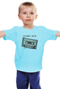 "Детская футболка классическая унисекс ""Кассета1 ж"" - кассета, 90's, cassette tape, компакт-кассета, аудио"