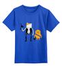 """Детская футболка классическая унисекс """"Star Wars Time"""" - время приключений, лукас, adventure, хан соло, с финном и джейком"""