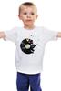 "Детская футболка ""Виниловая пластинка"" - музыка, dj, винил, пластинка"