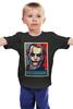 """Детская футболка классическая унисекс """"Джокер (Joker)"""" - поп арт, joker, джокер, obey"""