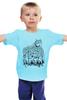 """Детская футболка классическая унисекс """"Волк в овечьей шкуре"""" - животные, волк, wolf"""