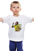 "Детская футболка ""Неймар футболист"" - футбол, barcelona, барселона, испания, fcb, бразилия, неймар, neymar"