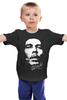 """Детская футболка классическая унисекс """"Bob Marley"""" - регги, боб марли, reggae, ska, jamaica, cка"""