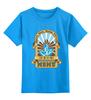 """Детская футболка классическая унисекс """"Мужская мггу"""" - мггу, mggu, msmu"""