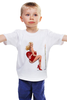"""Детская футболка классическая унисекс """"Блондинка"""" - сердце, сердечко, эротика, блондинка"""