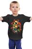 """Детская футболка классическая унисекс """"Лига Миньонов"""" - супергерои, миньоны, железный человек, капитан америка, халк"""