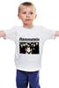 "Детская футболка классическая унисекс ""Rammstein"" - rammstein, industrial metal, индастриал-метал, метал-группа"