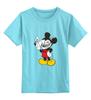 """Детская футболка классическая унисекс """"Микки-троль"""" - юмор, приколы, mickey mouse"""