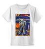 """Детская футболка классическая унисекс """"Bad Robot"""" - red, винтаж, robot, робот, иллюстрация, blue, vintage, журнал, обложка"""