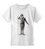 "Детская футболка классическая унисекс ""Charlie Chaplin"" - комик, charlie chaplin, чарли чаплин, актёр, чарльз спенсер чаплин"