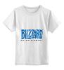 """Детская футболка классическая унисекс """"Blizzard"""" - warcraft, blizzard, starcraft, diablo"""